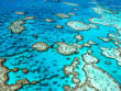 Great Barrier Reef aerial view