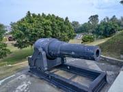 台南/台湾最初の西洋砲台