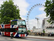 London Bus front, London Eye