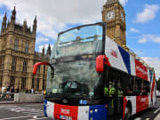 London Bus front, Big Ben