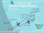 Scenic flight routes