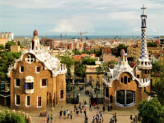 Gaudi's Park Guell and its unique architecture