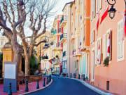Monaco town street