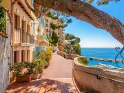 Monte Carlo Monaco village scene