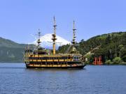 Hakone pirate ship cruise on Lake Ashi