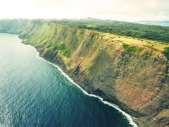 Hawaii_Maui_Cliff Side View