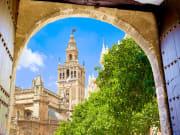 Seville cathedral Giralda_shutterstock_520025059