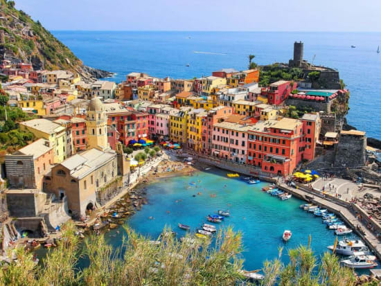 cinque terre and porto venere day tour from florence with gulf of