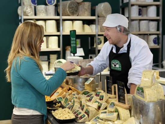 Cheese at Wensleydale Creamery
