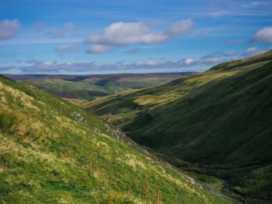 The view from the Buttertubs