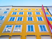 Mozarts Geburtshaus, Mozart's birthplace, austria