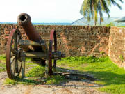 Fort Cornwallis, Penang's most famous fortress