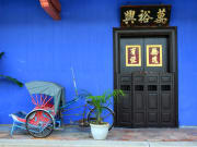 Visit the Blue Mansion in Georgetown, Penang