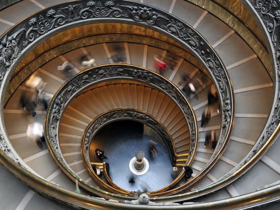 Italy_Rome_Vatican_Spiral-Stairwell__shutterstock_84594370