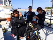 潛水教學1_船上