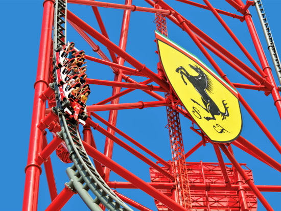 Ferrari Land Park Ticket With Optional Portaventura Park And Caribe