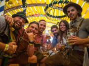 Stoke Oktoberfest campers
