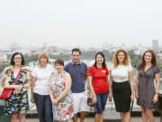 Enjoy great Hanoi City view from above
