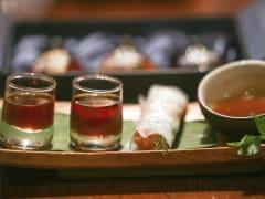 Authentic Vietnamese wine tasting