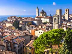 Italy, Bergamo, Lombardy, Skyline