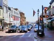Chesapeake Bay cars in traffic