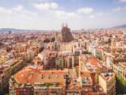 Spain Barcelona Sagrada Familia Church