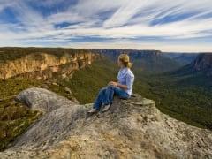 Panaromic views of Mt Hay, Chris Jones