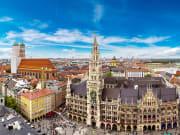 Germany_Munich_Marienplatz town hall_Frauenkirche_shutterstock_352865495