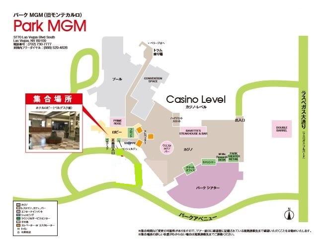 Park MGM pickup