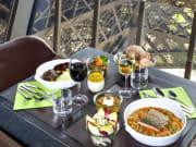 58 Tower Eiffel lunch menu