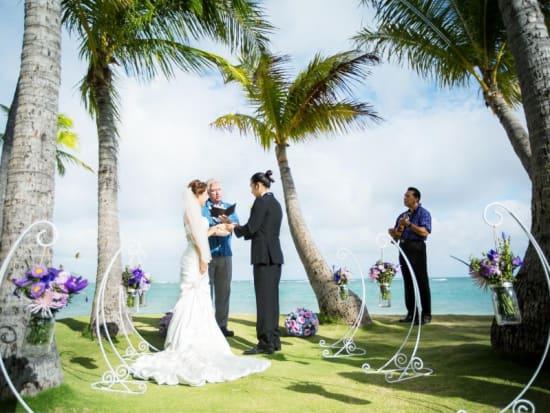 Wedding In Hawaii.Aloha Hawaii Beach Wedding Ceremony At Ala Moana Kapiolani Or