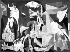 Guernica by Picasso in Reina Sofia Museum