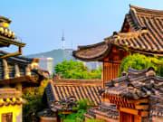 Hanok Village and N Seoul Tower