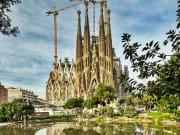 Spain, Barcelona, Sagrada Familia Church