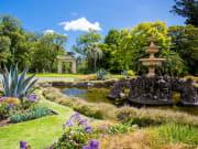 Fitzroy Gardens Melbourne Australia pond fountain