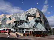 Australia Melbourne Federation Square glass facade