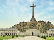 el escorial from madrid, valley of the fallen