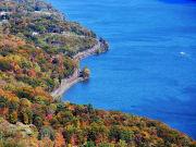 USA_New York_Bear Mountain_Hudson River_Fall