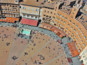 Campo Square Siena Private Tour from Rome