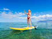 StandUp PaddleBoard SUP Cyclades Sail and Hike Tour