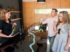 Couple-wine-tasting-at-Brennan-Wines