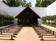 Changi Chapel Singapore rendered