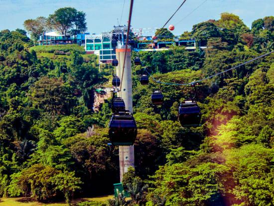 Singapore Sentosa Cable Car Ride