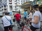 Singapore guided bike tour