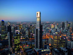 melbourne eureka skydeck 88 night view of the city