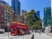 melbourne sightseeing tour red double decker bus
