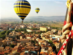 Hot-Air Balloon Ride over Barcelona