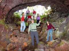Walking into cave Hualalai small-XL
