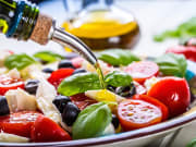 Caprese Salad with Olive Oil