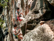 Rock Climbing Railay Beach